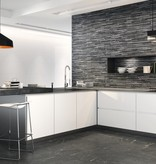 Helsset Black Floor Tiles
