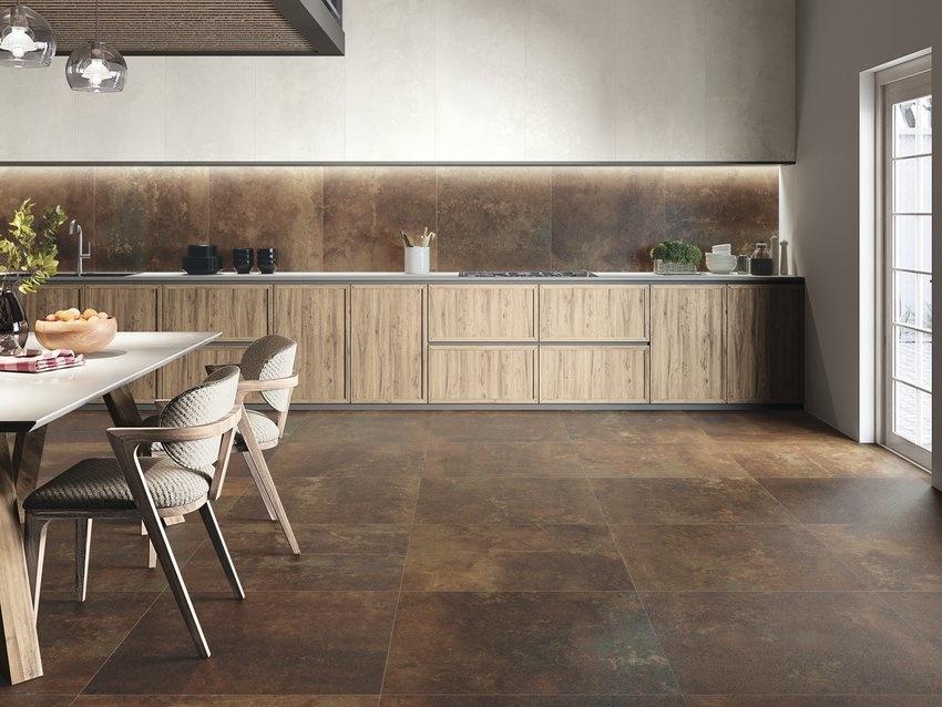 Floor Tiles Halden Copper 80x80x1 Cm