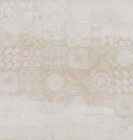 Bodenfliesen Feinsteinzeug Decor Avorio 60x60x1 cm