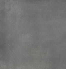 Abstract Graphite vloertegels mat, gekalibreerd, 1.Keuz in 80x80x1 cm