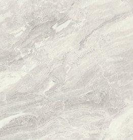 Bodenfliesen Feinsteinzeug Marble Light Grey Nairobi Perla 80x80x1,1 cm