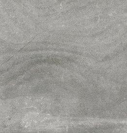 Carrelage Nickon Chrome mat, chanfreinés, calibré, 1.Choice dans 60x60x1 cm