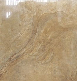 Axstone Gold Floor Tiles in Polished, chamfered , calibrated, 1.Choice in 60x60x1 cm