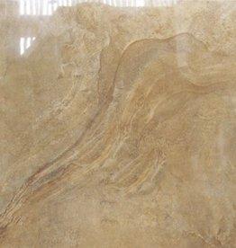 Bodenfliesen Feinsteinzeug Axstone Gold 60x60x1 cm