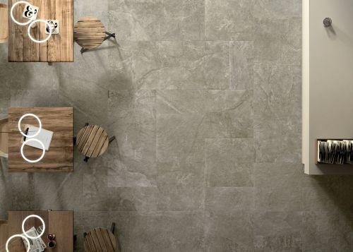 Bodenfliesen Blackboard Mud