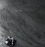 Floor Tiles Blackboard Anthrazit