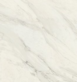 Calacatta Blanco NV Floor Tiles in polished, chamfered , calibrated, 1.Choice in 75x75 cm
