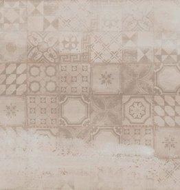 Bodenfliesen Feinsteinzeug Con Decor Beige 60x60x1 cm