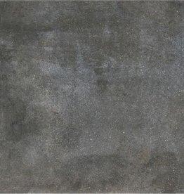 Dover Anthracite vloertegels matt, gekalibreerd, 1.Keuz in 60x60 cm