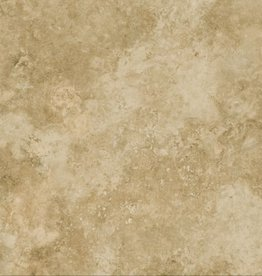 Travertino Noce Floor Tiles in Matt, chamfered , calibrated, 1.Choice in 60x60x1 cm