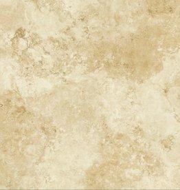 Travertino Marfil vloertegels matt, gekalibreerd, 1.Keuz in 60x60x1 cm