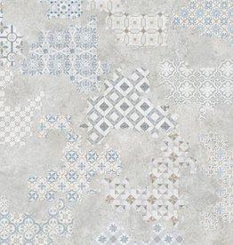 Bodenfliesen Feinsteinzeug Revoque Deco Perla 60x60x1 cm