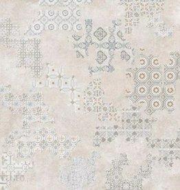 Retro Fliesen Revoque Deco Marfil 60x60x1 cm, 1.Wahl