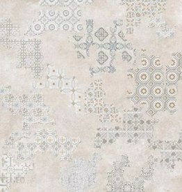 Revoque Deco Marfil Floor Tiles in Polished, chamfered , calibrated, 1.Choice in 60x60x1 cm