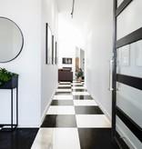 Floor Tiles Nero White Nano