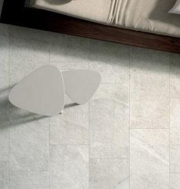 Bodenfliesen Feinsteinzeug Blackboard White 120x60x1 cm