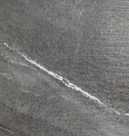 Bodenfliesen Feinsteinzeug Burlington Black 30x60x1 cm