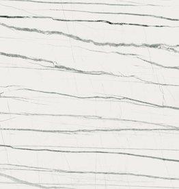 Vloertegels Daren Blanc gepolijst, gekalibreerd, 1.Keuz in 120x120x1cm