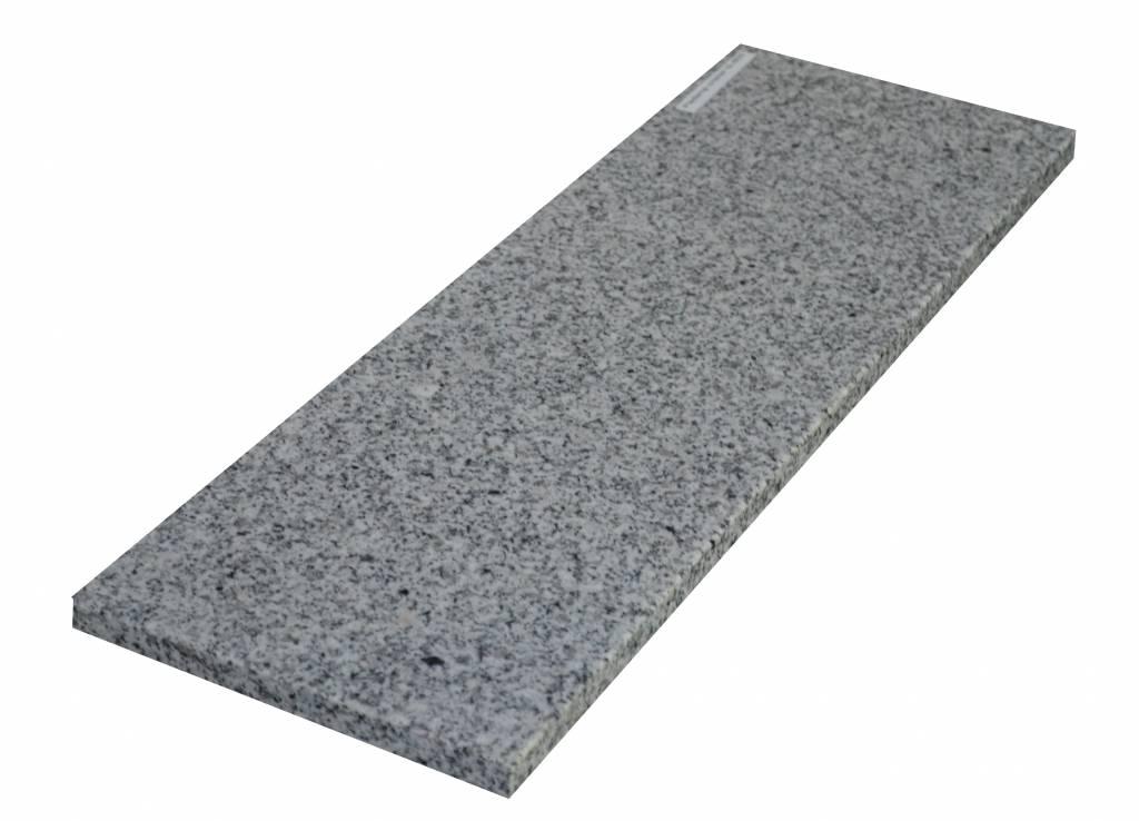 Padang Crystal Bianco Natuursteen granieten vensterbank 125x25x2 cm