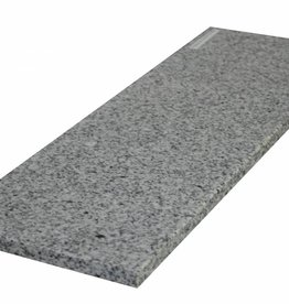 Padang Crystal Bianco 150x30x2 cm Naturstein Granit Fensterbank, 1. Wahl