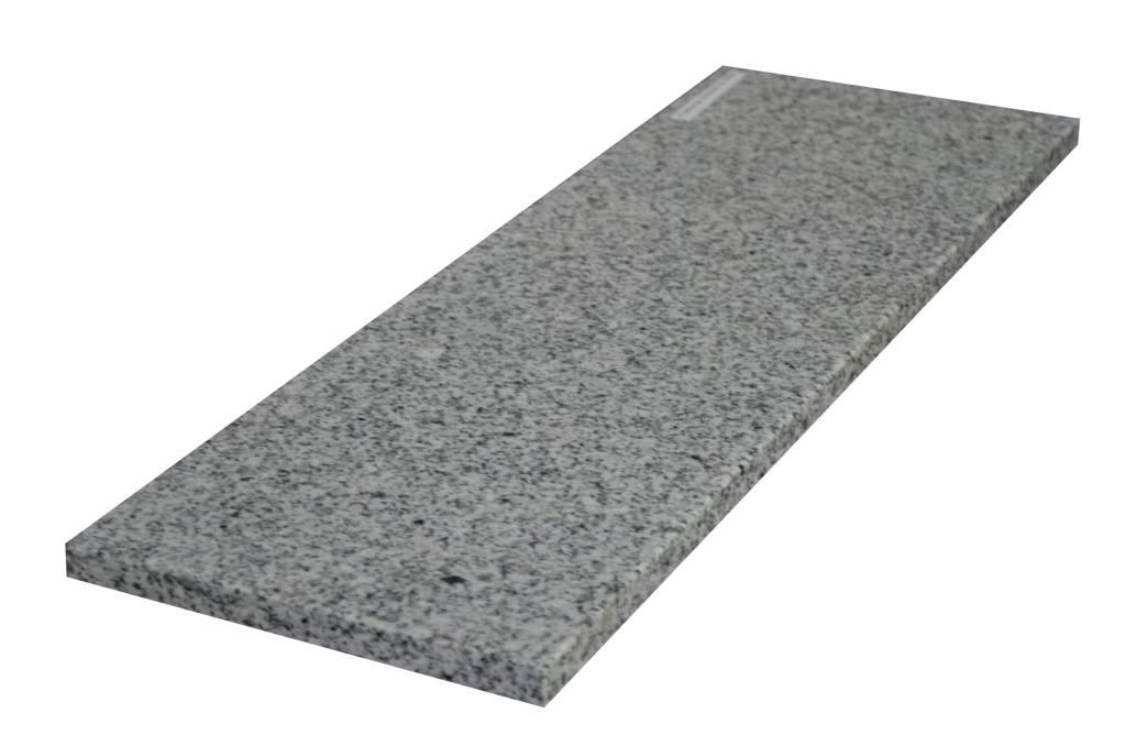 Padang Crystal Bianco Natuursteen granieten vensterbank 140x25x2 cm
