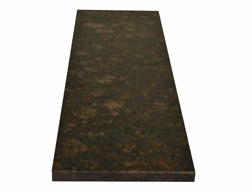 Tan Brown Naturstein Granit Fensterbank 240x20x2 cm