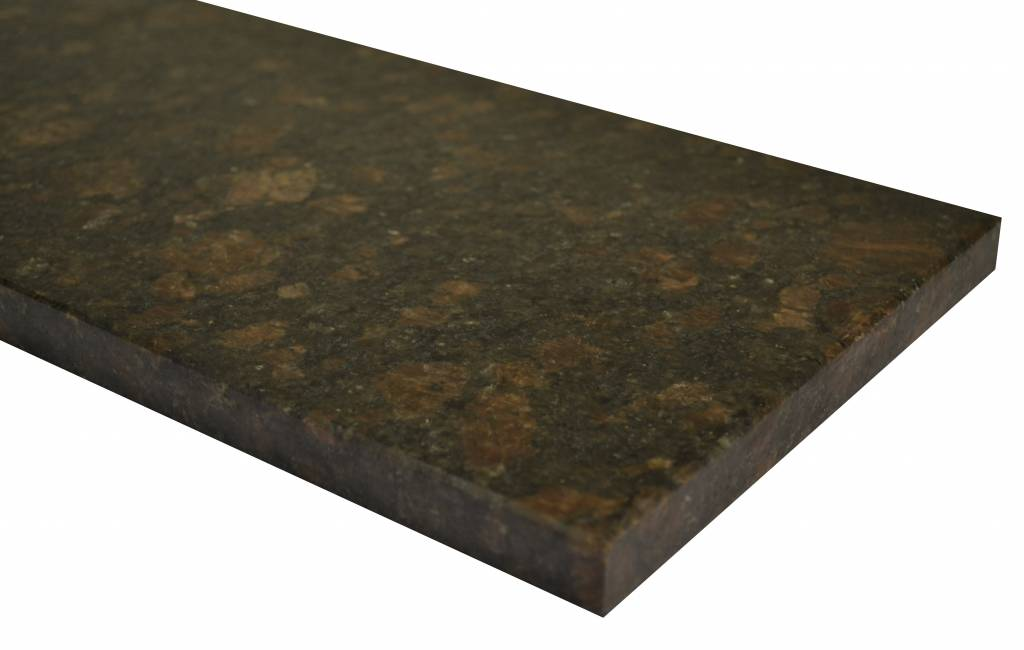 Tan Brown Natuursteen granieten vensterbank 125x25x2 cm