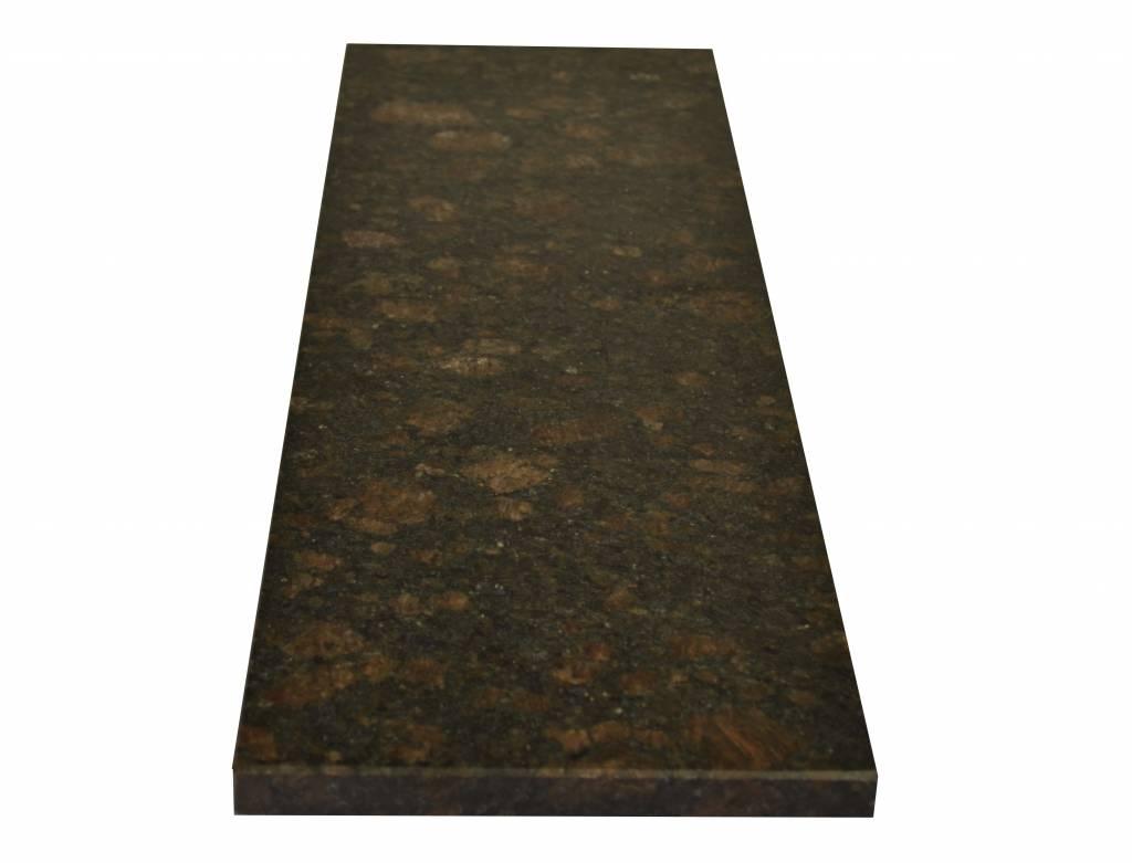 Tan Brown Naturstein Granit Fensterbank 125x25x2 cm