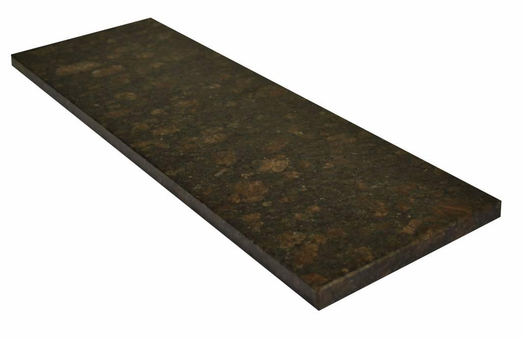 Tan Brown Natural stone granite windowsill 150x18x2 cm
