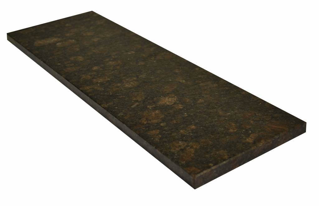 Tan Brown Natural stone granite windowsill 140x25x2 cm