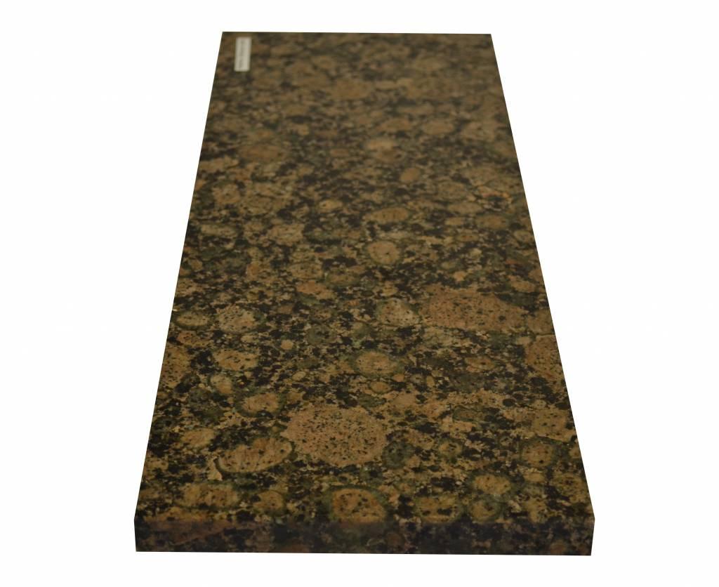 Baltic Brown Naturstein Granit Fensterbank 85x20x2 cm