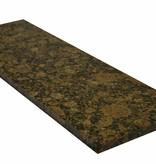 Baltic Brown Natural stone granite windowsill 125x25x2 cm