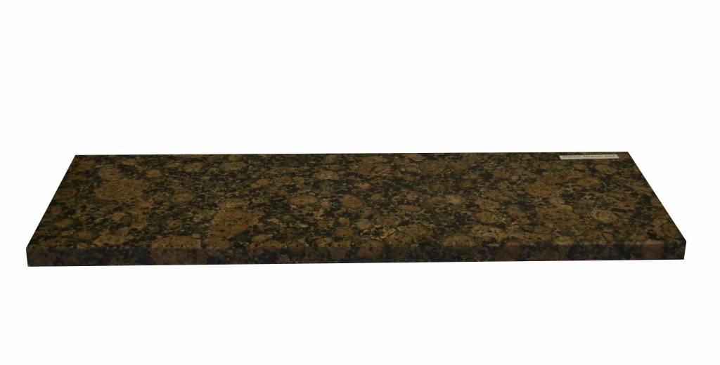 Baltic Brown Naturstein Granit Fensterbank 125x25x2 cm