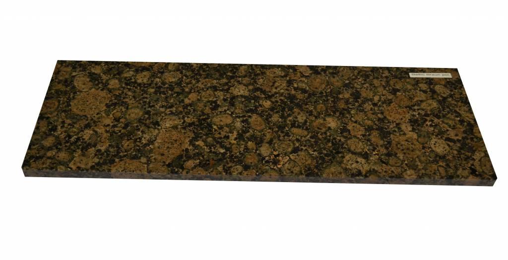 Baltic Brown Natural stone granite windowsill 150x30x2 cm