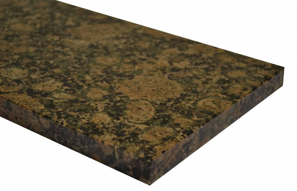 Baltic Brown Naturstein Granit Fensterbank 150x18x2 cm