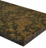 Baltic Brown Natuursteen granieten vensterbank 240x25x2 cm