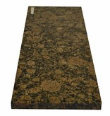 Baltic Brown Natuursteen granieten vensterbank 140x25x2 cm