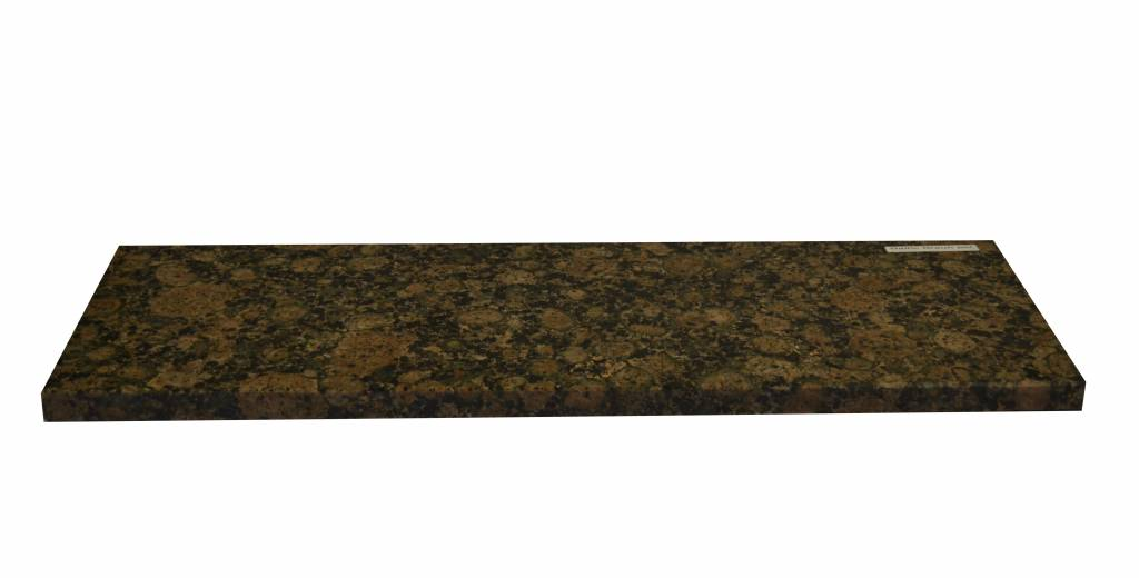 Baltic brown Pierre naturelle de granit fenêtre 140x25x2 cm
