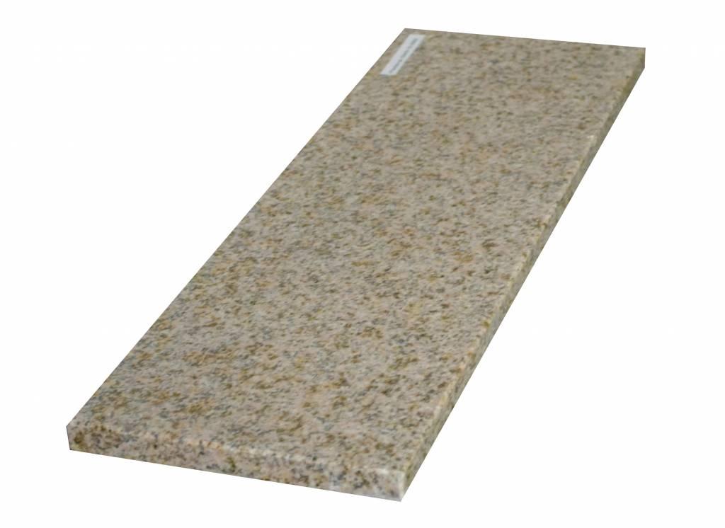 Padang Yellow Natuursteen granieten vensterbank 240x20x2 cm