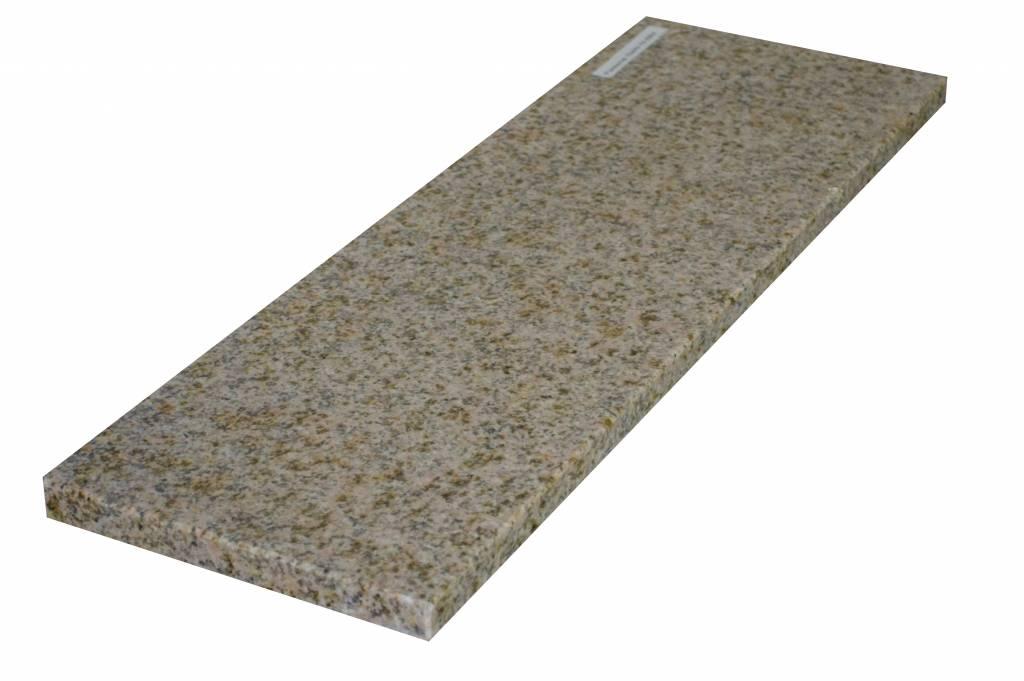 Padang Yellow Natuursteen granieten vensterbank 140x25x2 cm