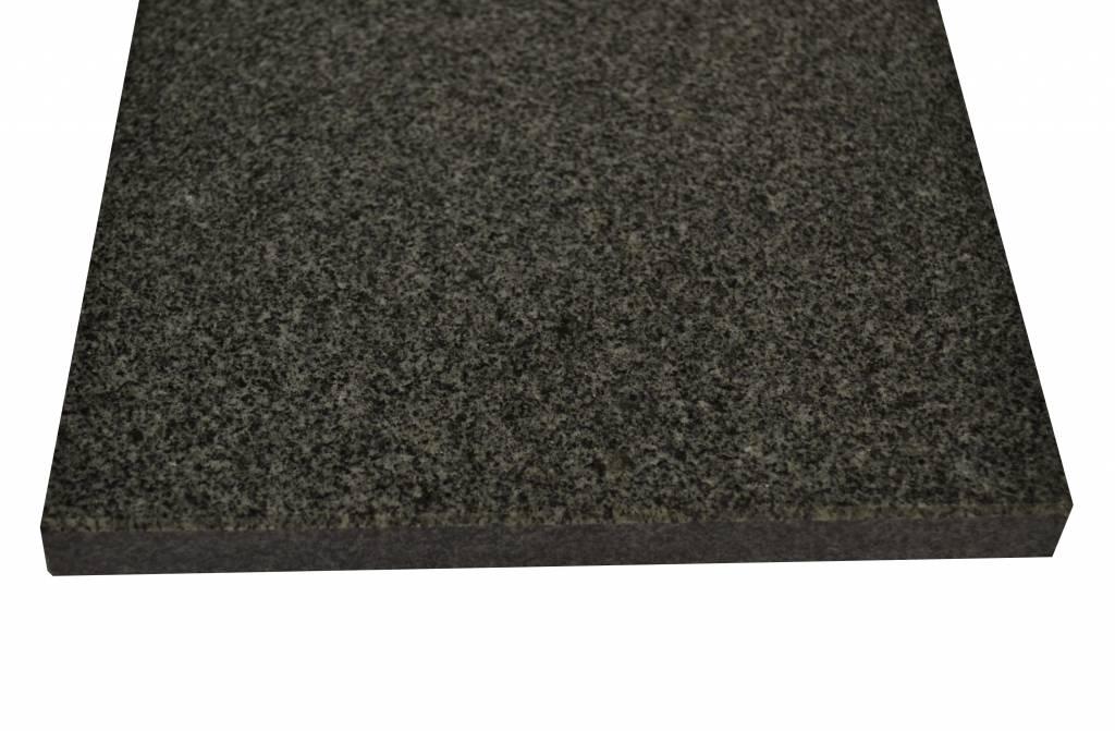 Padang Dunkel Natuursteen vensterbank 150x30x2 cm