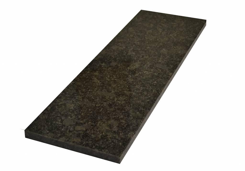 Steel Grey Natural stone windowsill 85x20x2 cm