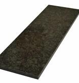 Steel Grey Natuursteen vensterbank 125x25x2 cm