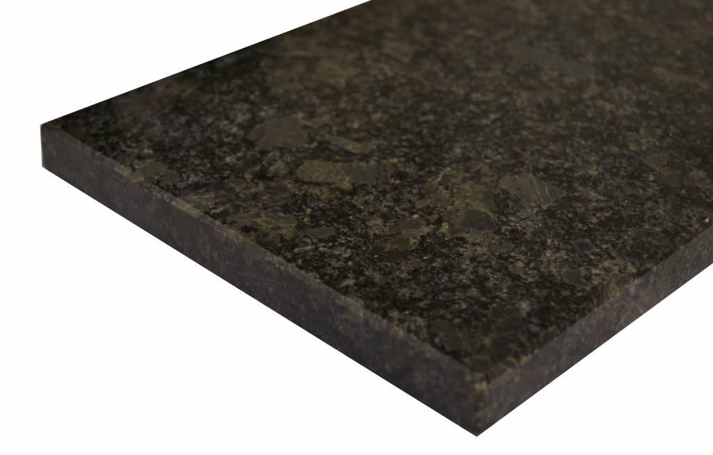 Steel Grey Natural stone windowsill 240x25x2 cm