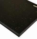 Black Star Galaxy Natuursteen vensterbank 85x20x2 cm