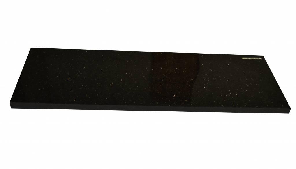 Black Star Galaxy Natural stone windowsill 240x20x2 cm