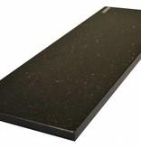 Black Star Galaxy Natuursteen vensterbank 125x25x2 cm