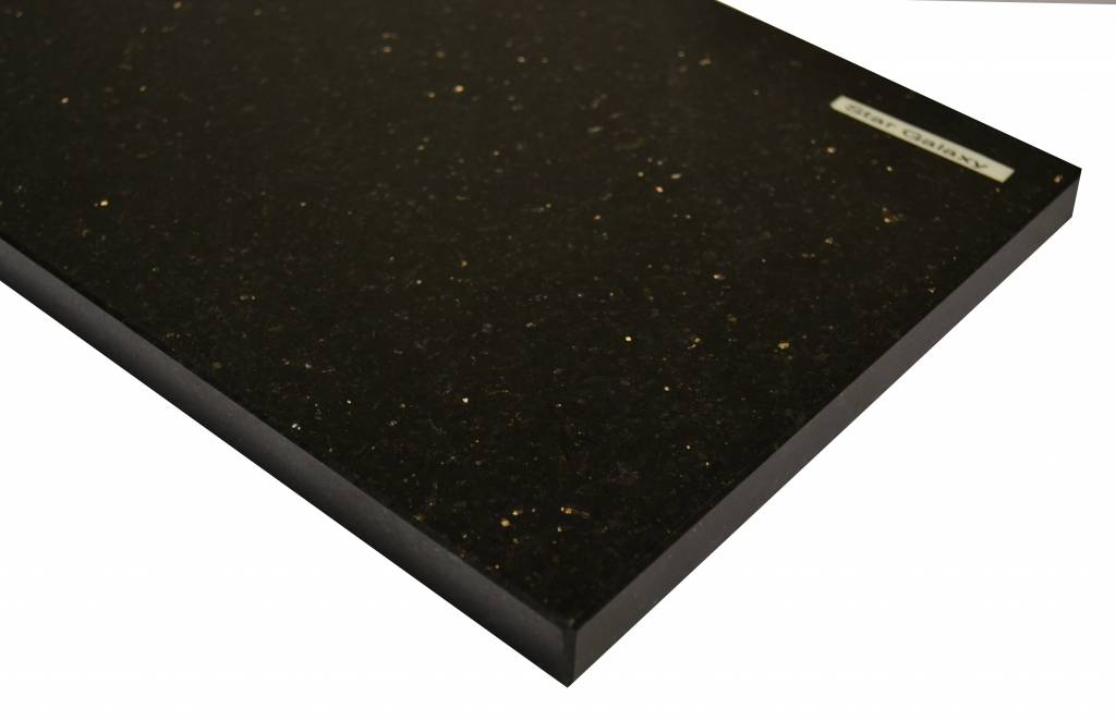 Black Star Galaxy Natuursteen vensterbank 150x30x2 cm