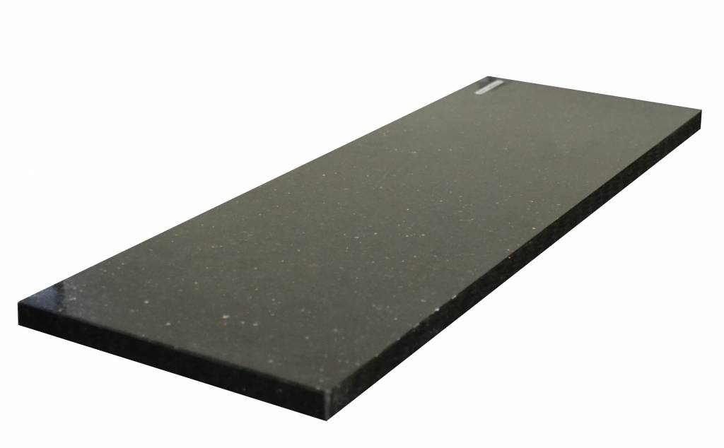 Black Star Galaxy Natural stone windowsill 150x30x2 cm