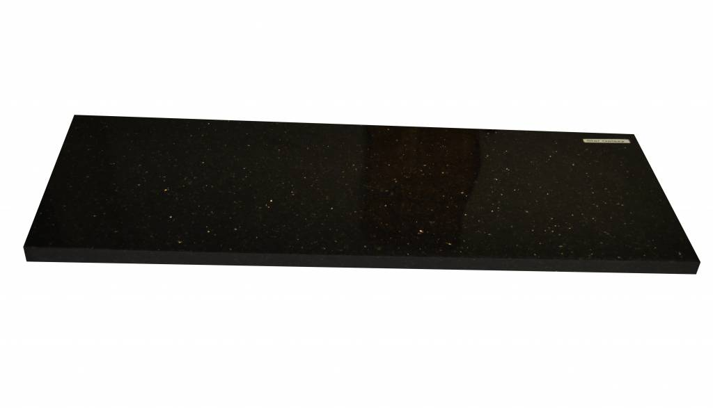 Black Star Galaxy Natuursteen vensterbank 140x25x2 cm